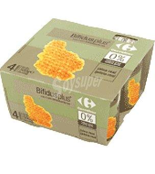 Carrefour Bifidus Jalea Real 0% Pack de 4x125 g