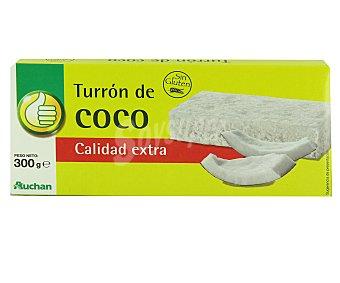 Productos Económicos Alcampo Turron de coco 300 gramos