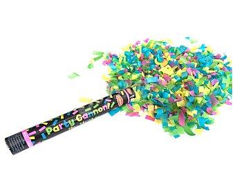 Goodmark Cañon de 40 centímetros que dispara confetti de papel fluorescente de 5x20 centímetros GOODMARK.