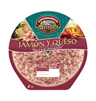 Casa Tarradellas Pizza jamon 450 G