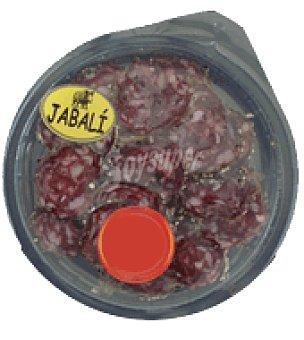 Abrilisto Capricho de salchichón de jabalí a la pimienta lonchas Envase de 45 g