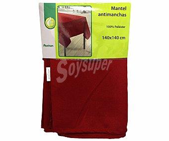 PRODUCTO ECONÓMICO ALCAMPO Mantel 100% poliéster, color rojo liso, 140x140 centímetros 1 Unidad