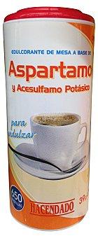 Hacendado Edulcorante pastilla aspartamo Pack de 39 (650 gr)