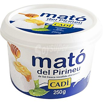 Mato Del Pirineu Queso fresco Envase 250 g