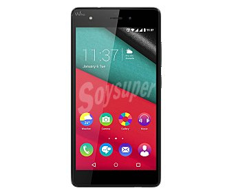 """Wiko Smartphone libre Pulp Blanco, procesador: Octa-Core, Ram: 2GB, almacenamiento: 32GB ampliable mediante microsd, pantalla: 5.0"""" 1280x720px, cámara: 13 Mpx, Dual-sim, Android 5.1"""