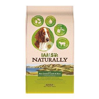 NATURALLY ADULT pienso para perros adultos con cordero y arroz