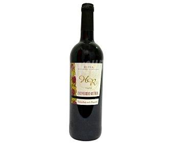 Honorio rubio Vino tinto joven Botella de 75 Centilitros