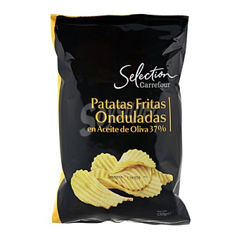Carrefour Selección Patatas onduladas 50% Aceite de oliva virgen extra 130 g