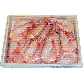 Langostinos de Madagascar 30-35 pzas/kg caja 400 g