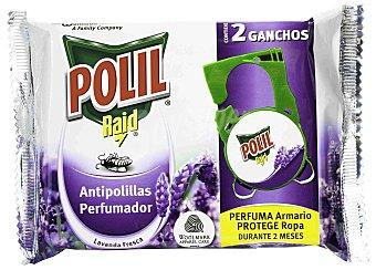 Polil Raid Polil Antipolilla Colgador Lavanda (x2) 2 ud