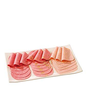 Ricura Mortadela de cerdo y pavo con aceitunas Sobre de 250 g