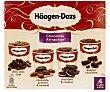 Tarrinas de helado sabores chocolate  4 unidades de 100 ml Häagen-Dazs