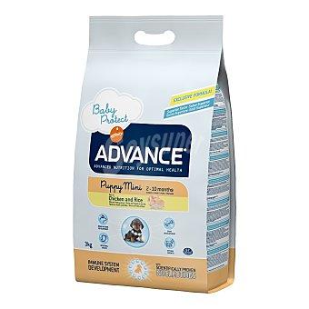 ADVANCE de AFFINITY Pienso para perros cachorros mini Advance Baby Protect pollo y arroz 3 Kg