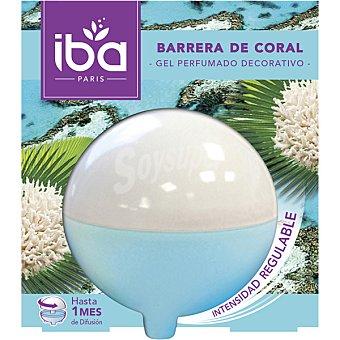 Iba Ambientador gel decorativo Barrera de Coral envase 1 unidad Envase 1 unidad