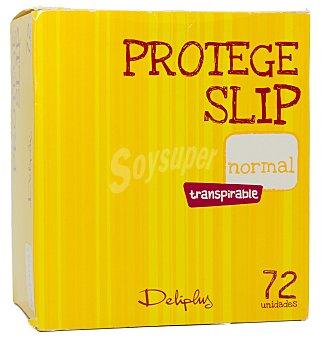 Deliplus Protegeslip normal Paquete 72 u