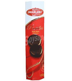 Miguelañez Chocolate amargo pastilla rollo 100 g