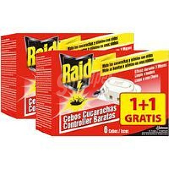 RAID Cebo Cucarachas 2 Unidades