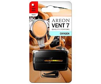 AREON Ambientador de coche para rejilla de ventilación, con olor a aire limpio, modelo Vent 7 1 unidad