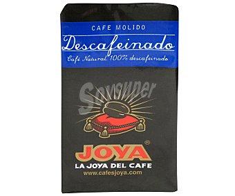 Joya Café molido descafeinado 250 Gramos