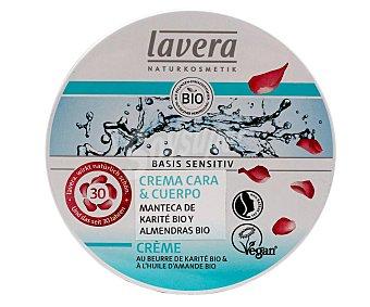 Lavera Naturkosmetik Crema para cara y cuerpo con mantecha de karite y almendras bio 150 ml