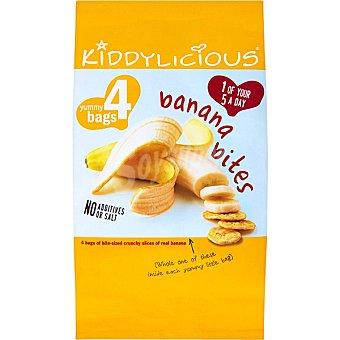 MASOLIVER Kiddylicious Snack crujiente de banana Bolsa 48 g