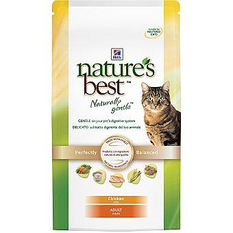 HILL'S NATURE'S BEST ADULT Alimento especial formulado para mantener la forma física de los gatos adultos con pollo Bolsa 2 kg