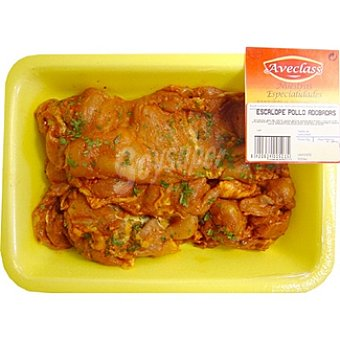 AVECLASS Escalopes de pollo adobados  bandeja 450 g