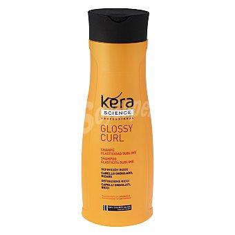 Les Cosmétiques Champú elasticidad sublime para cabello ondulado, rizado - Kera Science 400 ml