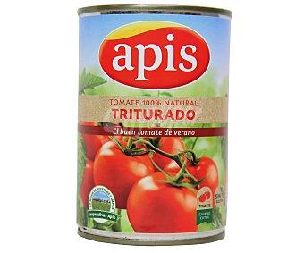 Apis Tomate natural triturado Lata 400 g peso neto