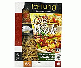 Ta Tung Tallarines Cantonesa- Pollo Curry Rojo 350g