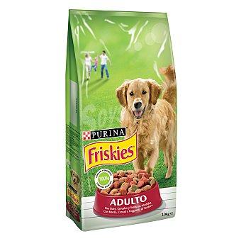 Friskies Purina Comida para perros Adulto con Cereales, Carnes y Verduras 10 kg
