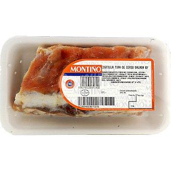 Montiño Costillas saladas de cerdo peso aproximado bandeja 500 g Bandeja 500 g
