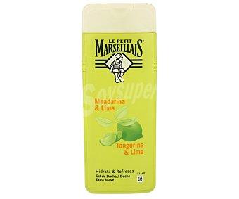 Le Petit Marseillais Gel de baño con mandarina & lima hidrata y refresca Frasco 400 ml