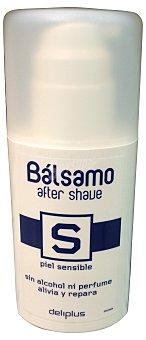 Deliplus After shave bálsamo piel sensible con dosificador (envase blanco) Botella de 100 cc