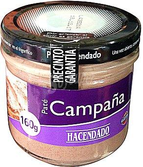 HACENDADO Pate campaña Tarro de 160 g