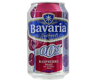 Bavaria Cerveza holandesa sin alcohol 0,0% con frambuesa 33 cl