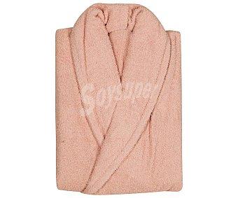 Actuel Albornoz color rosa 100% algodón, 380g/m², talla M, ACTUEL. 380g