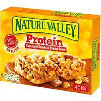 Nature Valley Cereales protein salted caramel nut Caja 160 g