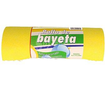 Rozenbal Rollo precortado de bayeta suave y absorbente 1 unidad