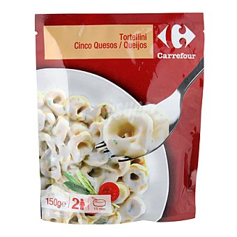Carrefour Tortellini cinco quesos 150 g
