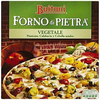 Buitoni Forno Di Pietra Pizza vegetal calabacin pimientos y aceitunas  Estuche 370 g