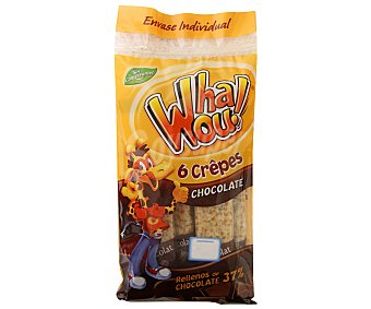 Whaou Crepes Choco Whaou! 6 Uds 192 gr