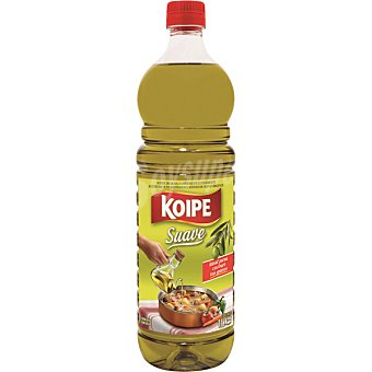 Koipe Aceite oliva suave botella 1 litro