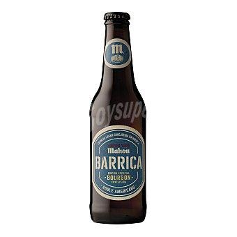 Mahou Cerveza rubia envejecida en barrica Botella 33 cl