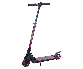 BLUOKO P8 Patinete eléctrico de 2 ruedas color negro y rosa P8 BLUOKO.