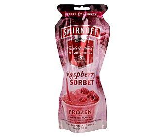 Smirnoff Combinado helado de vodka con frambuesa Sobre de 250 mililitros