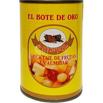 El Bote de Oro Cóctel de frutas en almíbar Lata 230 g neto escurrido