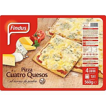 FINDUS pizza cuatro quesos estuche 560 g