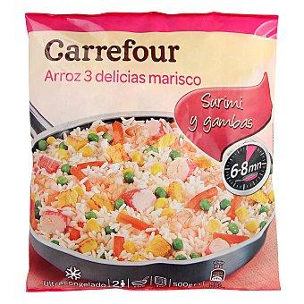Carrefour Arroz tres delicias con marisco 500 g