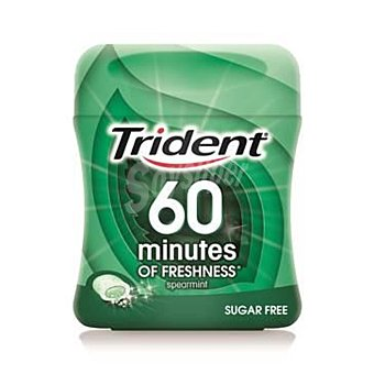 Trident Chicles Trident 60 Min Hierbabuena 80 g